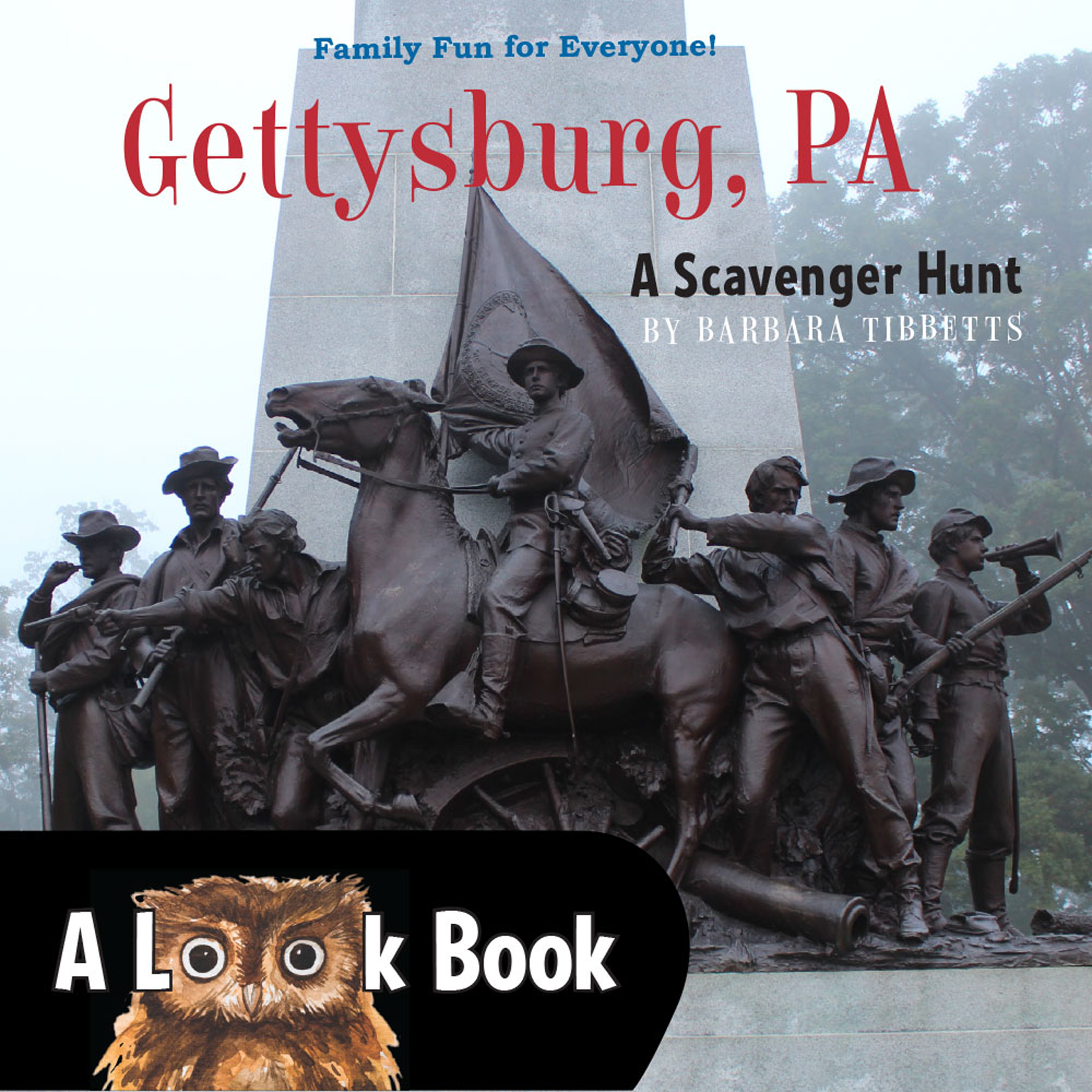 Gettysburg, PA – Look Book Scavenger Hunt