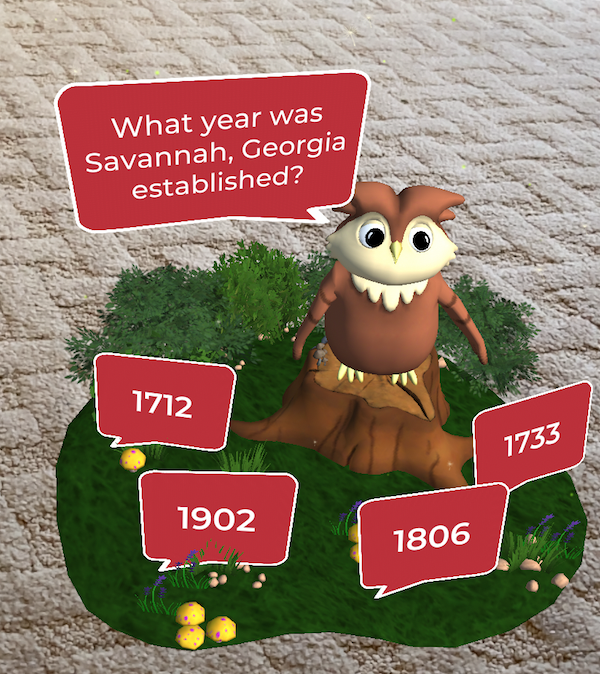 Savannah, Georgia Quiz